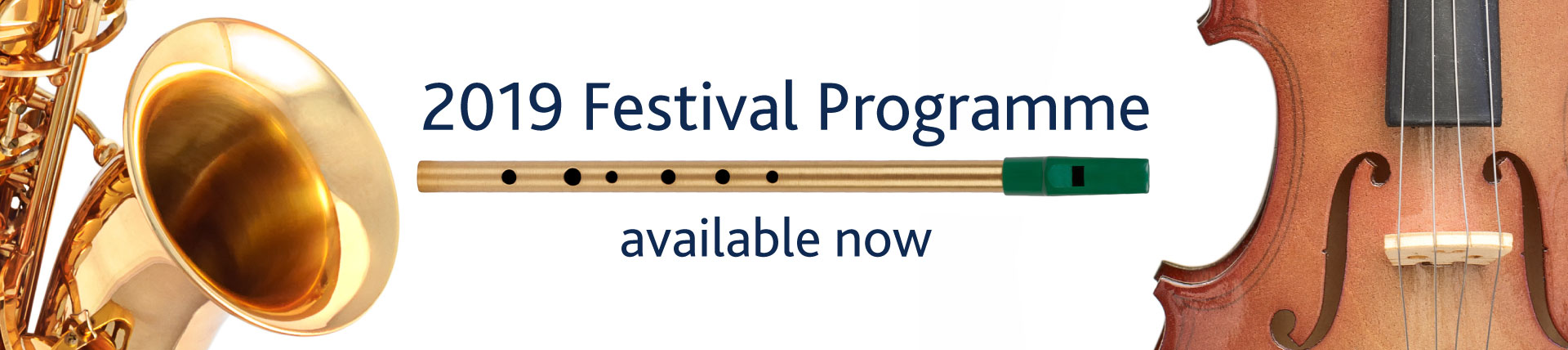 2019 Festival Programme Available Now